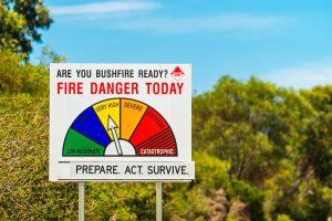 prepare property for fire season